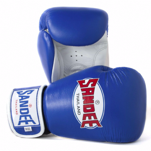 Sandee Authentic Boxing Gloves - Blue
